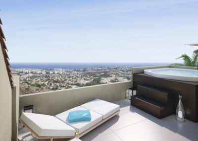 2 Bedroom Apartments | High Panoramic Views – Benalmádena | Ref:A1003
