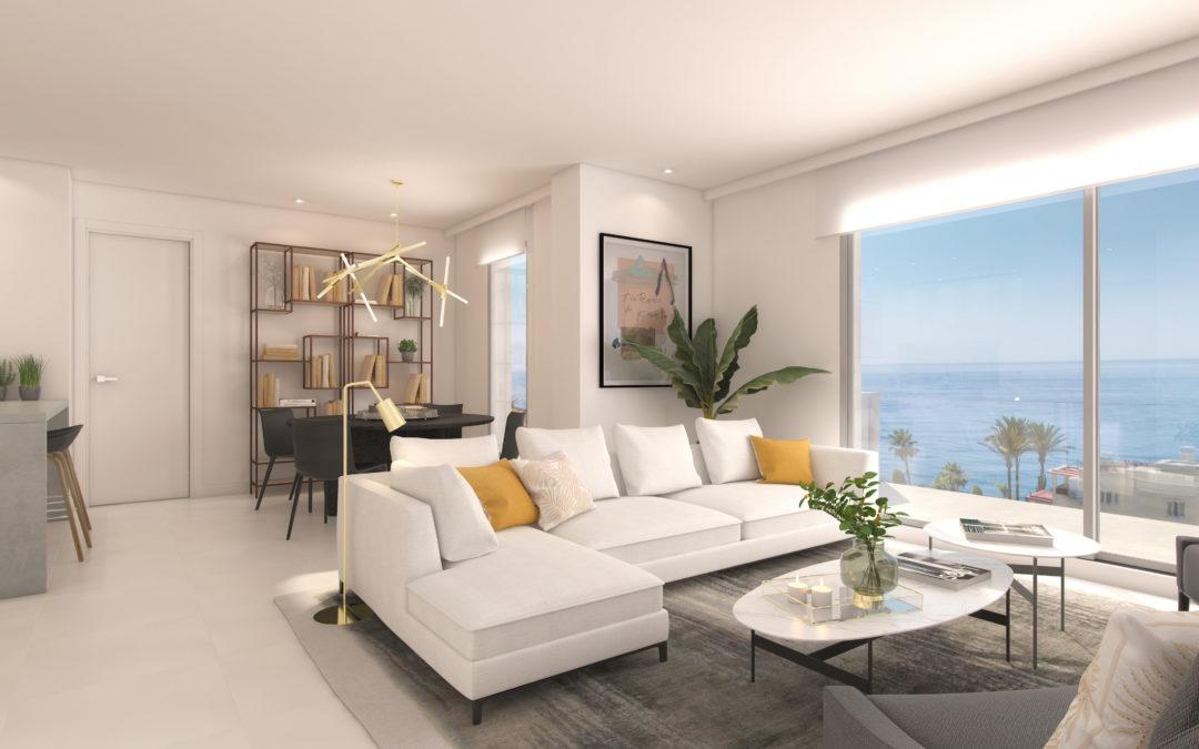 Apartamentos de 3 Dormitorios   Abajo, junto al mar – Benalmádena   Ref:A1005b