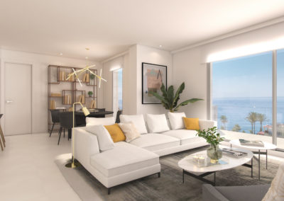3 Bedroom Apartments | Down next to the sea – Benalmádena | Ref:A1005b