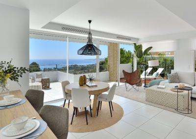 Villas de 4 Dormitorios | Tranquilidad & Vistas – Benalmádena | Ref:A1006