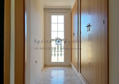 zona vestidor dormitorio