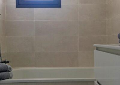 baño 2 bañera